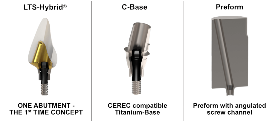 C-Base Hybrid-Abutment Preform